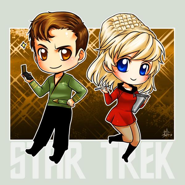 StarTrek: TOS Epic by ZombieDaisuke