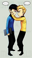 StarTrek: Mind Meld Attempt by ZombieDaisuke