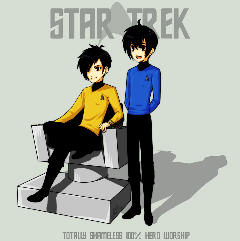 StarTrek: Hero Worship by ZombieDaisuke on DeviantArt