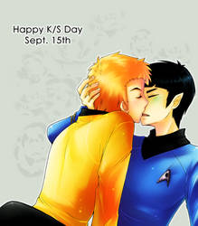 StarTrek: Kerchan's K+S Day by ZombieDaisuke