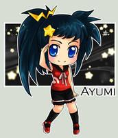 ArtTrade: Ayumi for Kaumalat92 by ZombieDaisuke