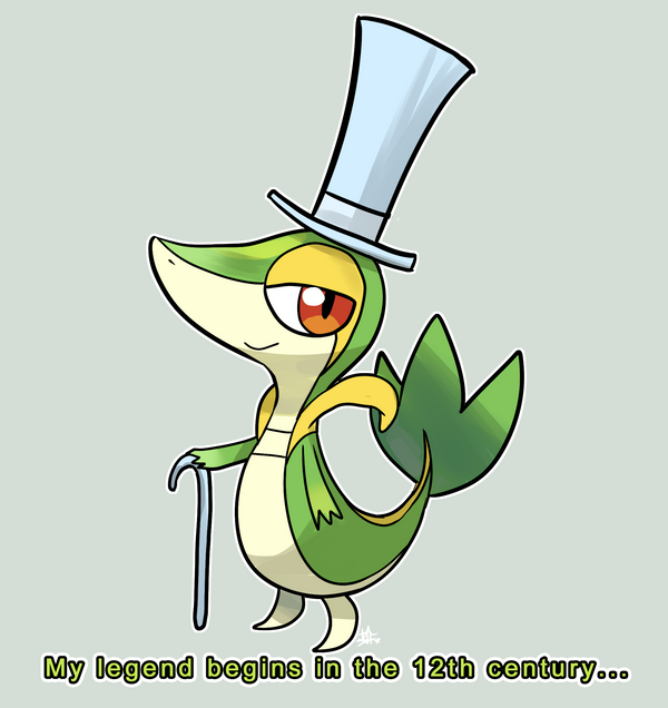 New Grass Pokemon Starter by ZombieDaisuke