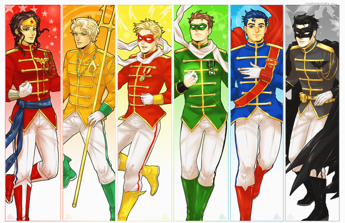 Justice League Gay