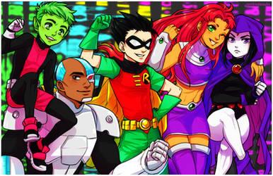 Teen Titans Go! by ZombieDaisuke