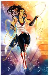Wonder Woman by ZombieDaisuke