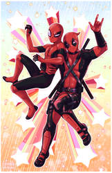 Spideypool by ZombieDaisuke