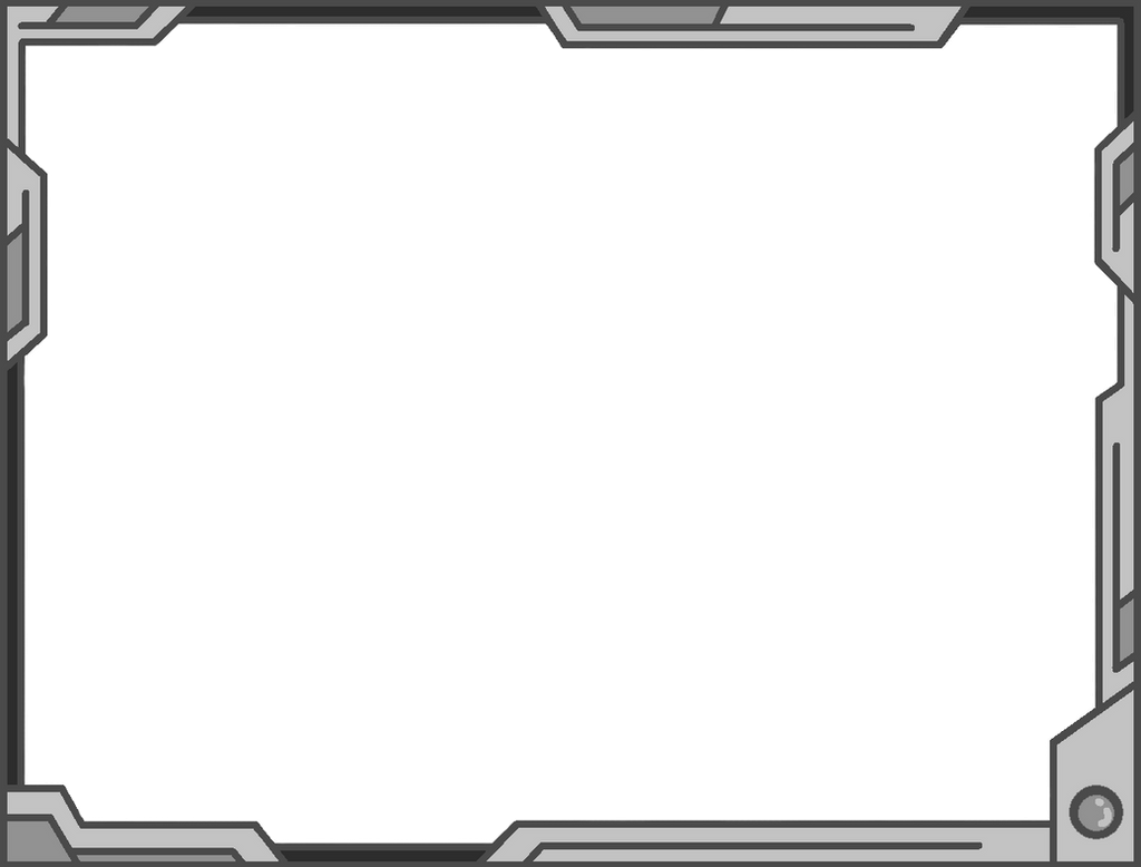 Simple Futuristic Border Design (Gray/Basic) by Vahntreorr on DeviantArt