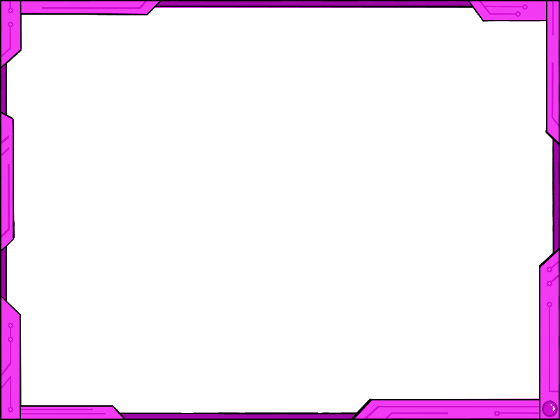 simple frame border design. Simple Futuristic Border Design Ver2 - Pink By Vahntreorr Frame