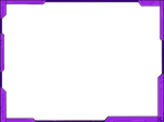 Simple Futuristic Border Design ver2 - Purple