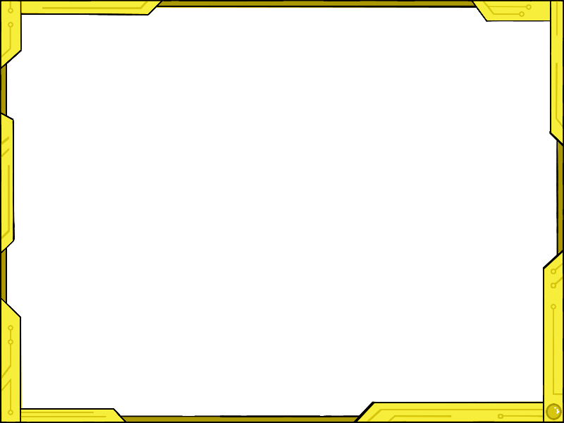 Simple Futuristic Border Design Ver2