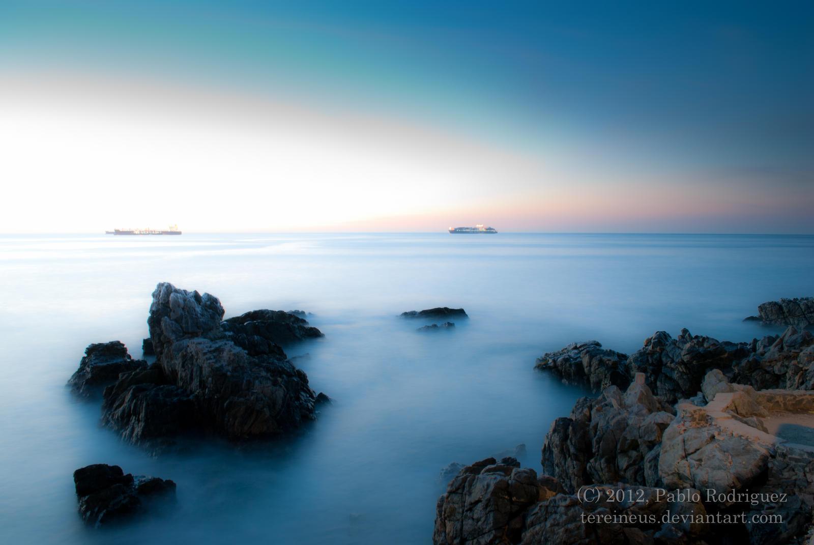 the blue cotton coast by Tereineus