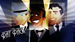 Art Deco: THE RAT PACK by javiperillas
