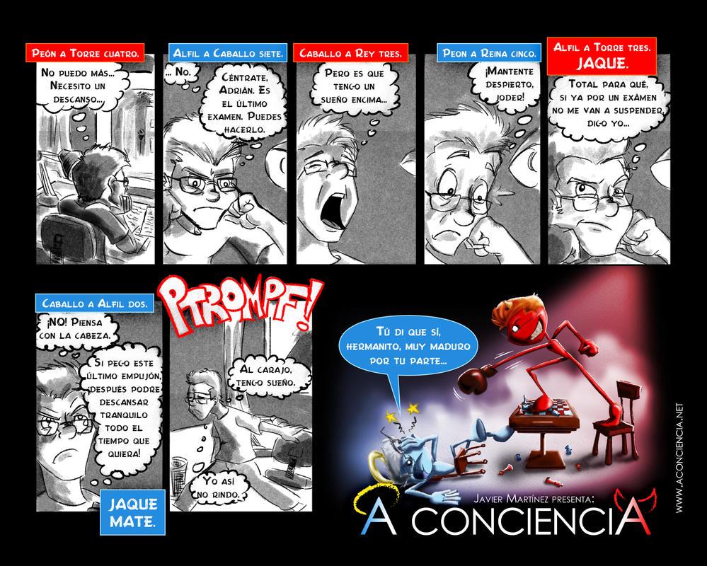 A CONCIENCIA: 01 - Abren las blancas by javiperillas