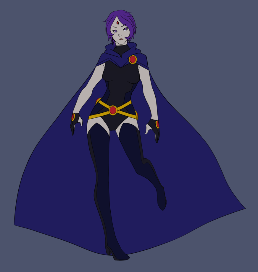 Young Justice- Raven b...