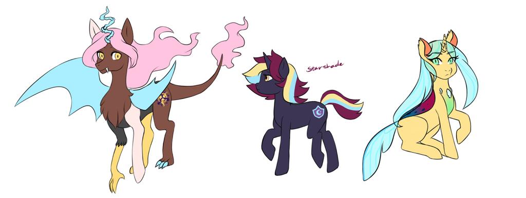 Ponies by Taiponite