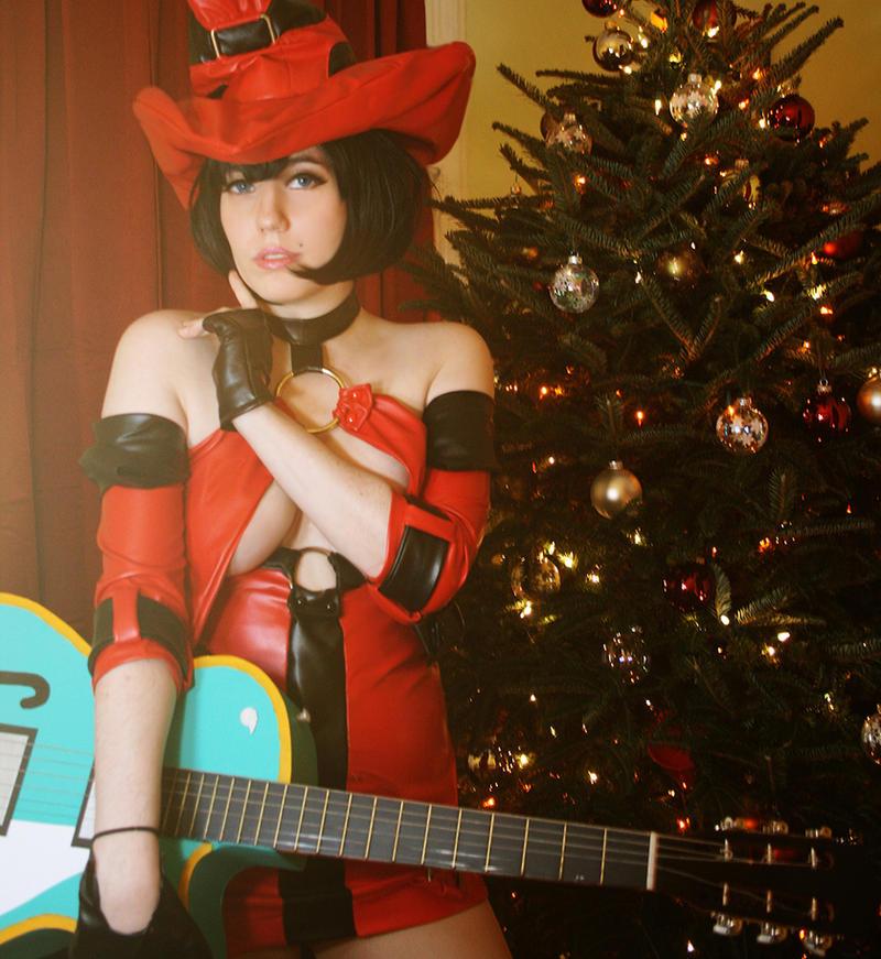 Ino - 02  ( Merry Christmas ) by galaktikmermaid