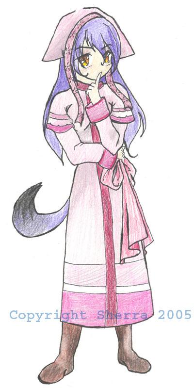 Neko-chan by Sherra