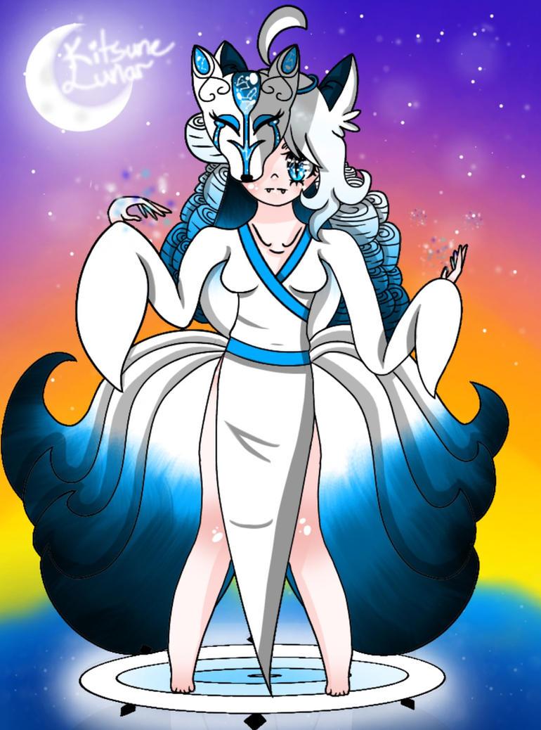 Lunar Kitsune by KitsuneLunar