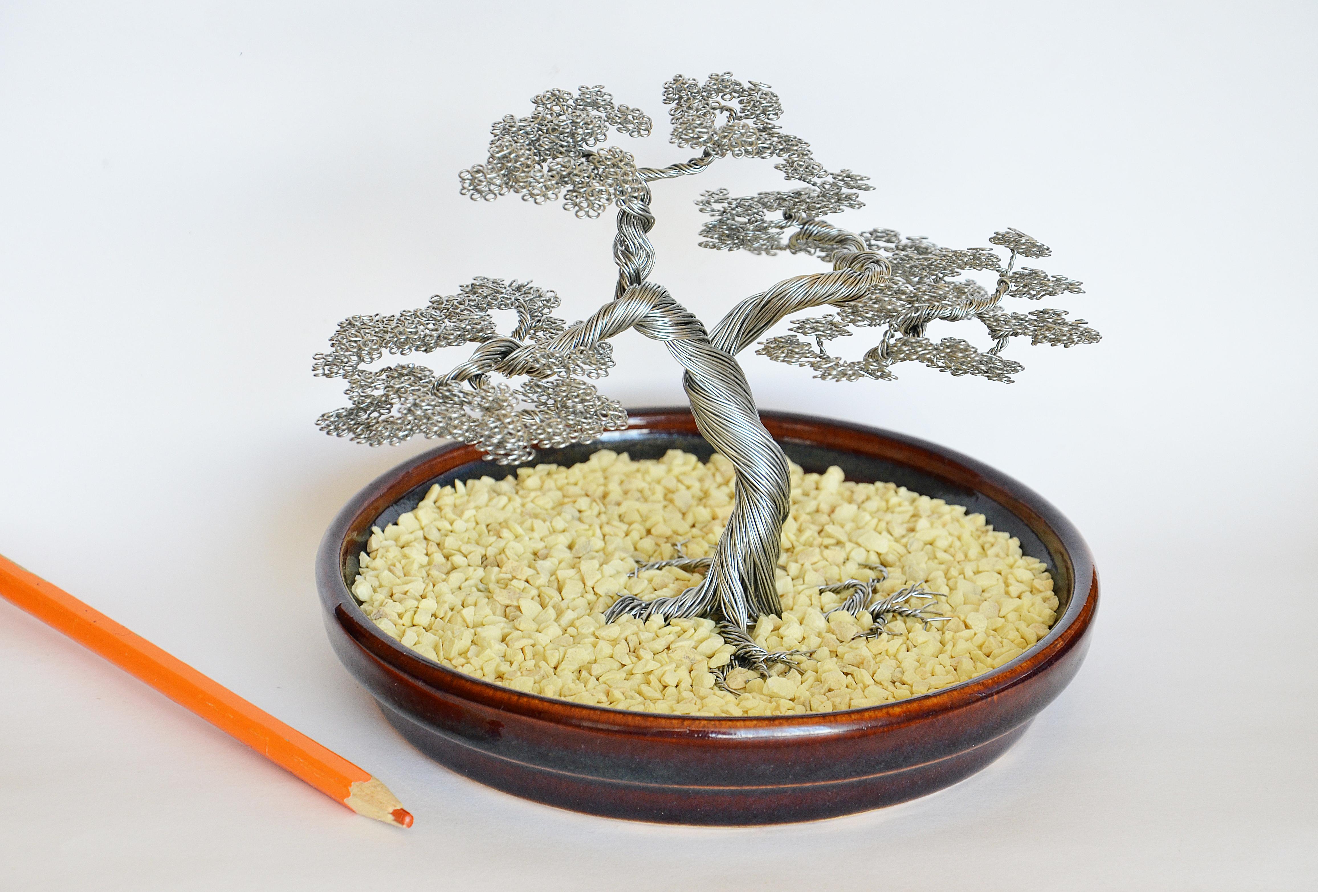 Wire Bonsai Leaf Identification Wiring Diagrams A Tree Sculpture By Minskis On Deviantart Best For Northeast