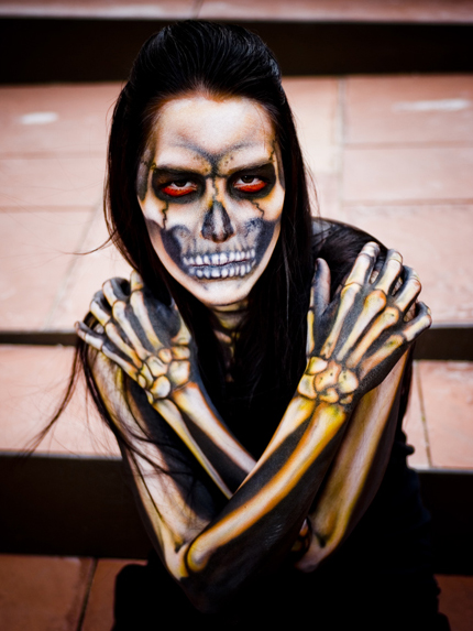 Body Paint Bones by Yasuco1497 on DeviantArt