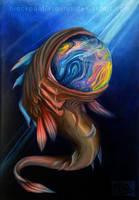 Deep sea creature by Pantiesaurus
