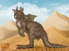 Kangadragon by Pantiesaurus