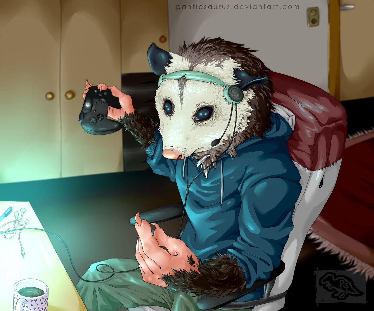 Teamspeak Opossum