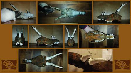 Dreer collage thingy ft. Yoko by Pantiesaurus