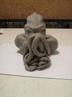 Cthulhu sculpture 3 by OroGirl