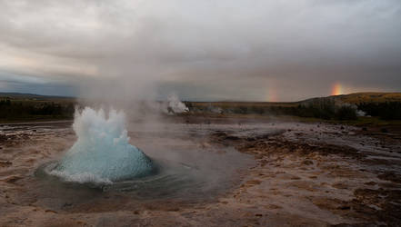 The Great Geysir by secondclaw