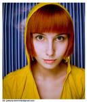 .red hair girl.