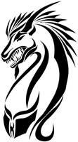 Dragon tribal by Radven
