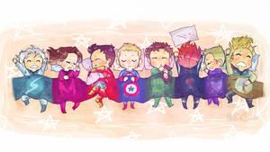 Snoozing Heroes~
