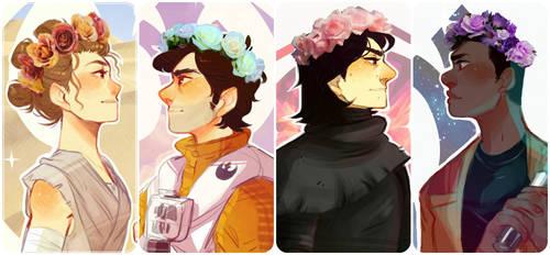 Galactic Cuties by TumbleweedFrenzy