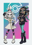 Roxie And Nessa as Off The Hook