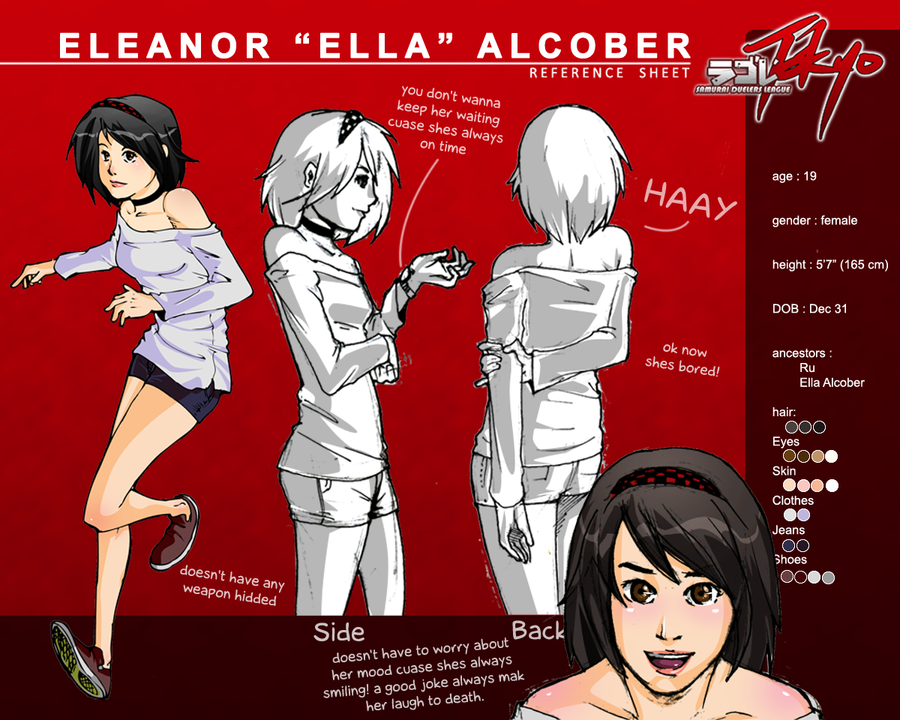 SDLT : Ella Ref sheet by wansworld