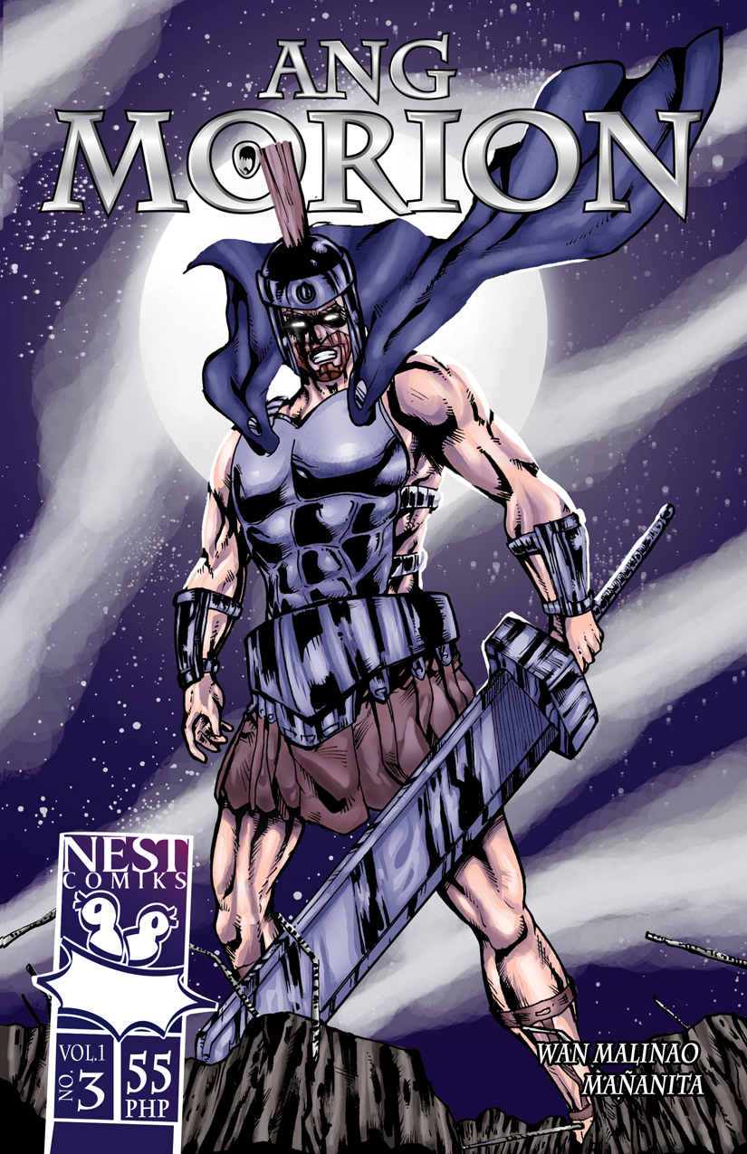 ang MORION cover no3 by wansworld