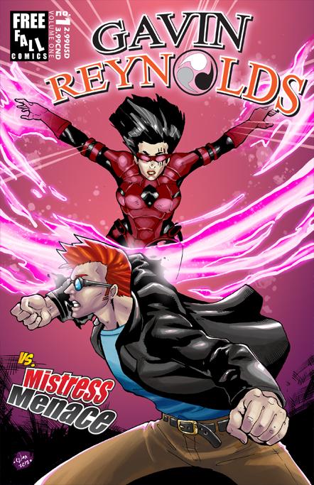 Commish : Gavin Reynolds vs Mistress Menace by wansworld