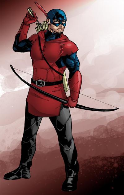 Commish : Phantom Archer by wansworld