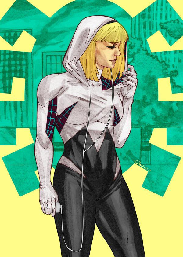 MARVEL Spider-Gwen by wansworld