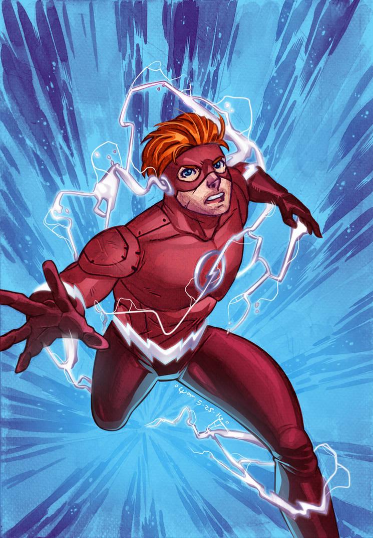 DC Rebirth : Wally West by wansworld