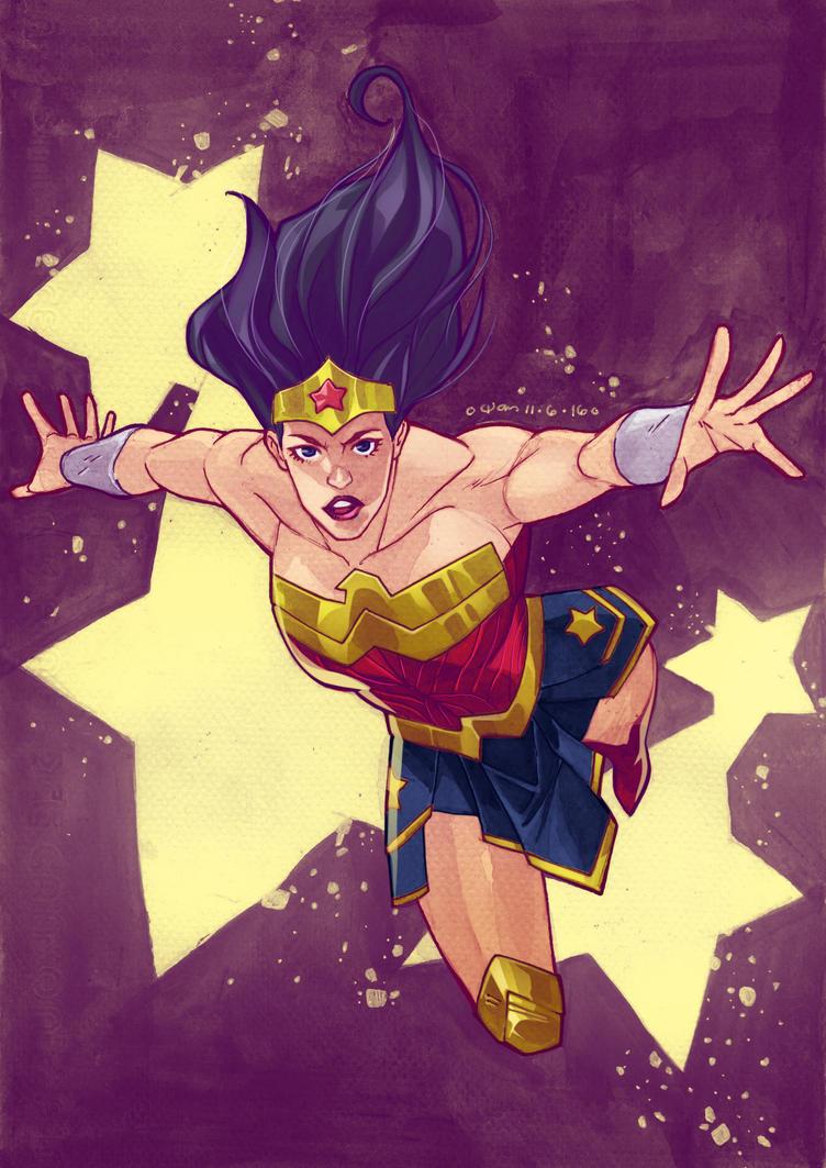 DC : WonderWoman by wansworld