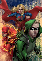 Arrowverse Trinity by wansworld