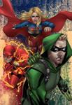 Arrowverse Trinity