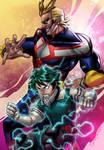 My Hero Academia - AllMight_Deku