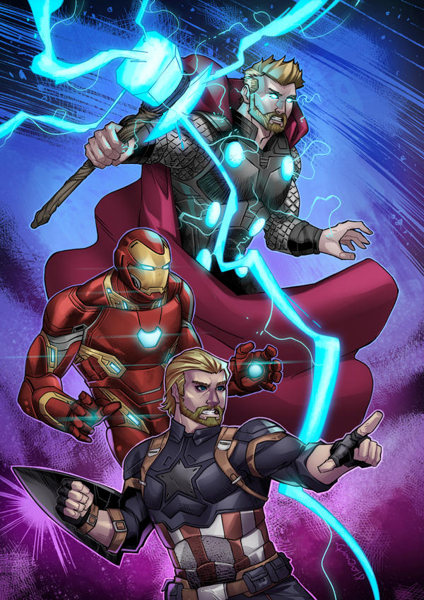 Avengers Assemble by wansworld