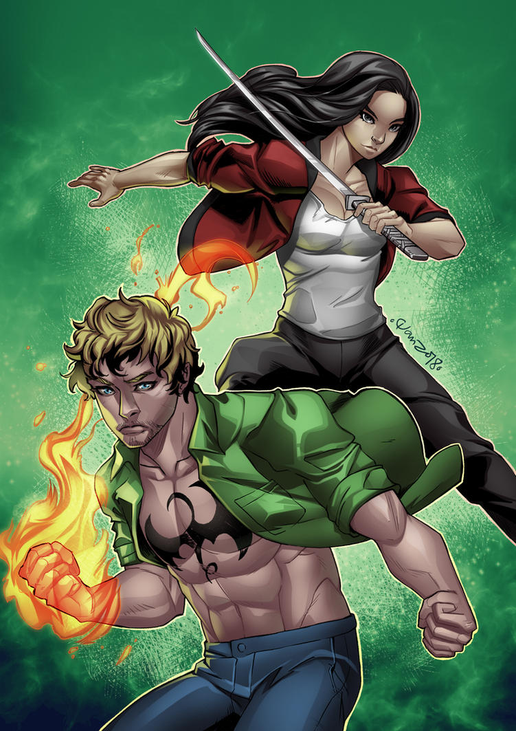 Marvel Iron Fist by wansworld