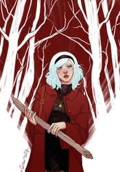 Chilling Adventures of Sabrina by wansworld