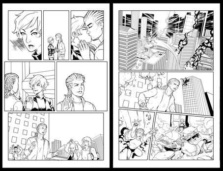 Zener issue 0 BNW pg4-5