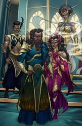 Commish : Uranian Royal Family